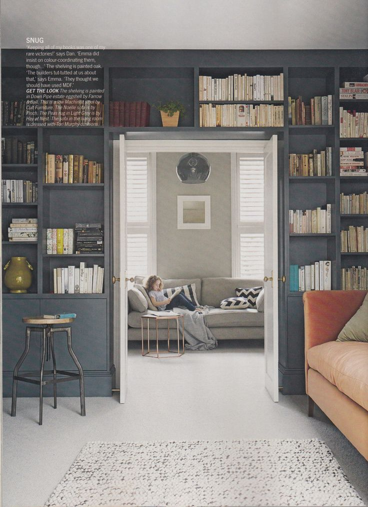 We were delighted to see not just our Hamilton Spot pouf in Living Etc this month but also our Chevy...