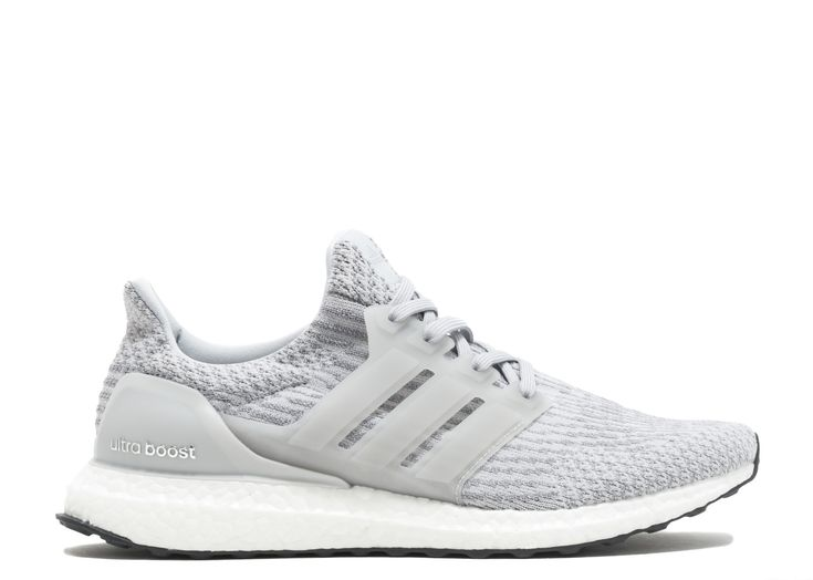 adidas - Ultra Boost Grey White - $250.00