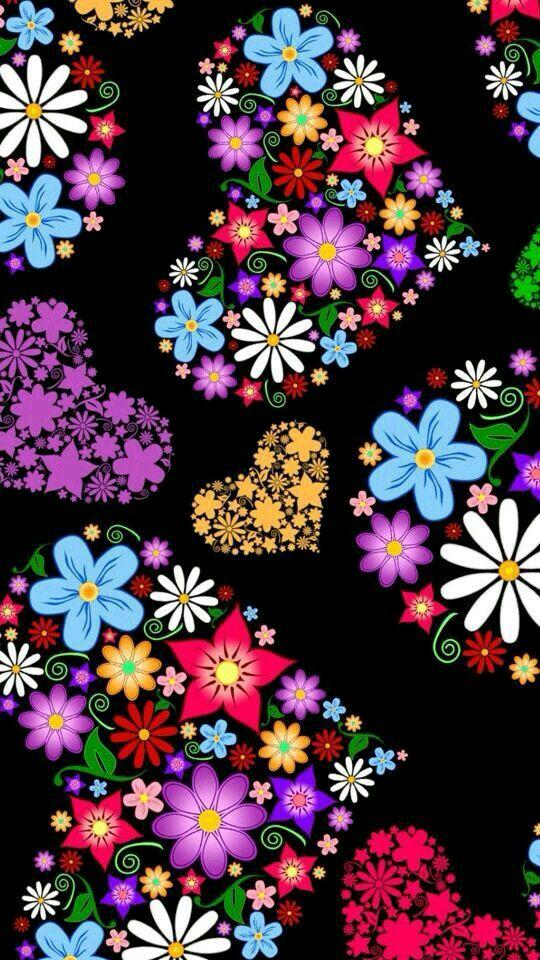 Wallpaper Iphone Peace And Love : 37 mejores imagenes sobre FONDOS en Pinterest Mini corazon, Pinturas de acrilico abstractas y ...