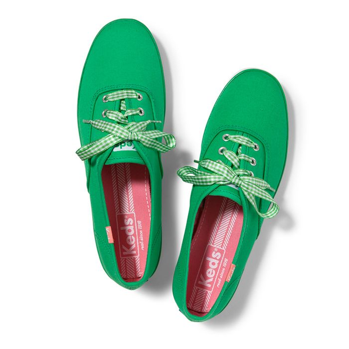 Champion Gingham Lace. Color Shown: Brite Green