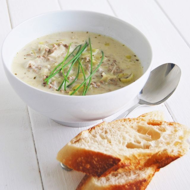 Mer enn 25 bra ideer om Rezepte Käse Hackfleisch Lauch Suppe på - käse lauch suppe chefkoch