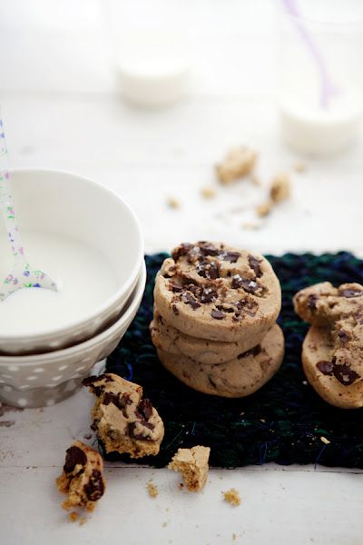 The Best Chocolate Chunk Cookies You'll Ever Have  By Aran Goyoaga from Cannelle et Vanille
