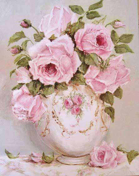 roses via Art I love…❤ | Pinterest)