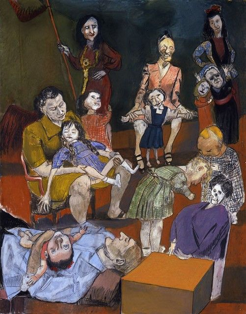 """Paula Rego, """"School for little witches"""", 2009"""