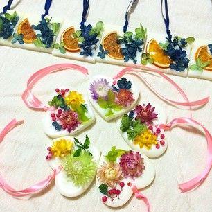 #wax bar #dlied flowers #mervelle #ワックスバー
