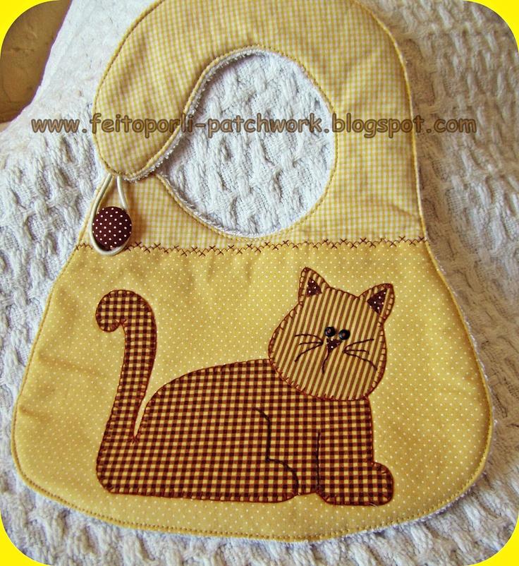 Feito por Li - Patchwork e Crafts  Feito por Li - Baby  Babador