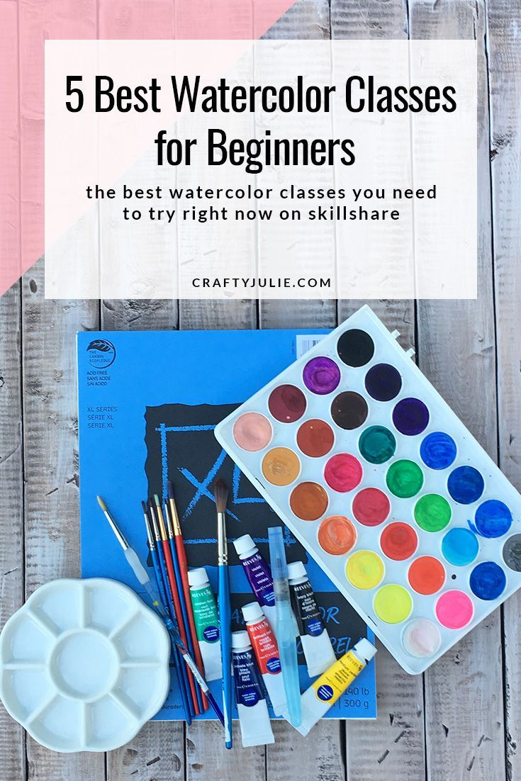 5 Best Watercolor Classes For Beginners Watercolor Beginner