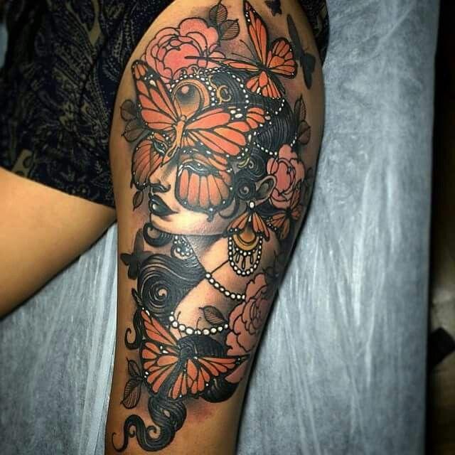 Best 25 feminine sleeve tattoos ideas on pinterest for Feminine music tattoos