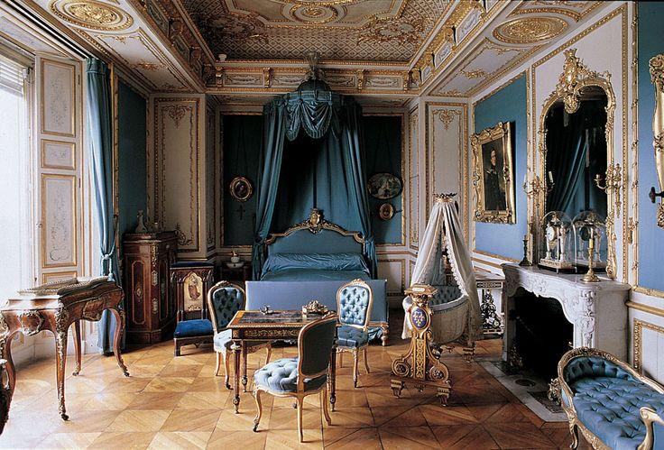château de Chantilly-Chambre de la duchesse d'Aumale©Domaine de Chantilly