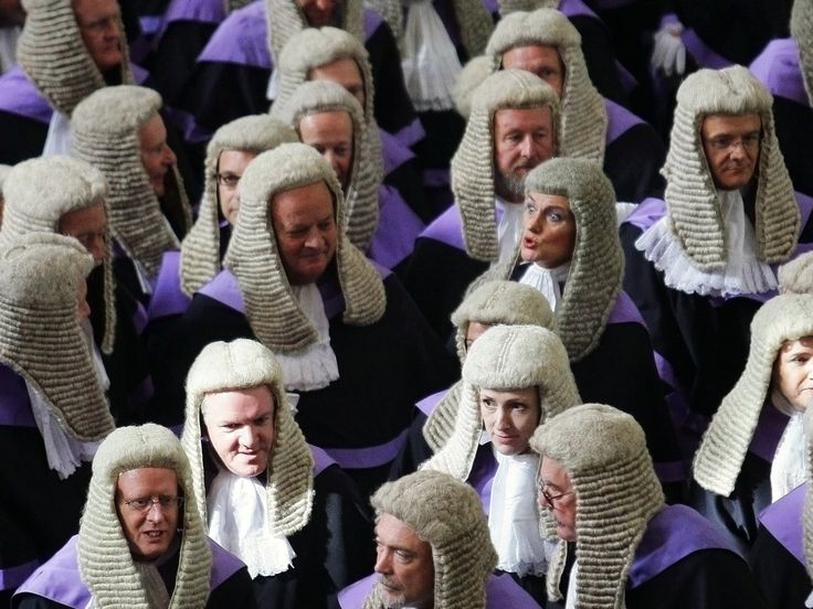 High Court Judge The Legal System in Murmuring Judges Pinterest