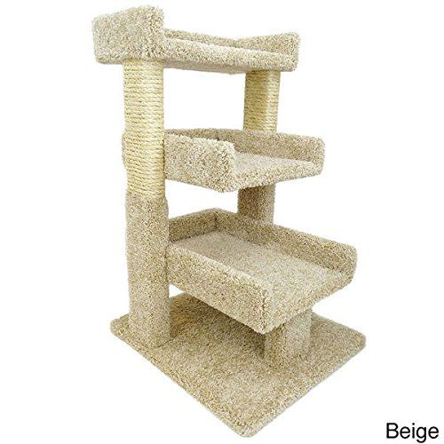 Cat Condo Pet Furniture Kitty tower 33 inch 3 Tier Cat Perch Tree Pet Supplies ** More info could be found at the image url. (This is an affiliate link and I receive a commission for the sales)