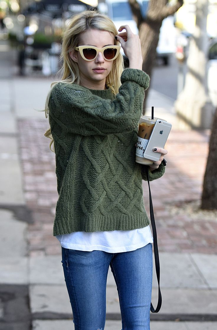 Emma Roberts Out in LA, 11/02/15