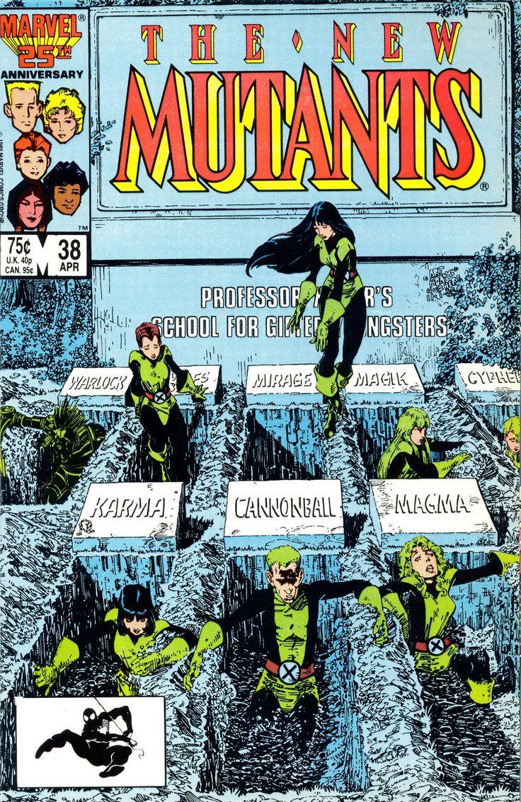 The New Mutants    New Mutants Vol 1 #38