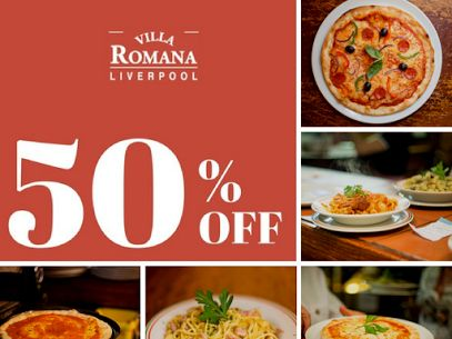 If you are in Liverpool tomorrow come in a grab yourself this amazing half price every Wednesday deal!  We provide amazing , not to be missed, Italian food which is why we are Liverpool's 1# Italian restaurant!