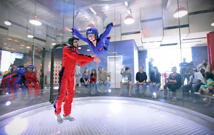 Go Indoor Skydiving.