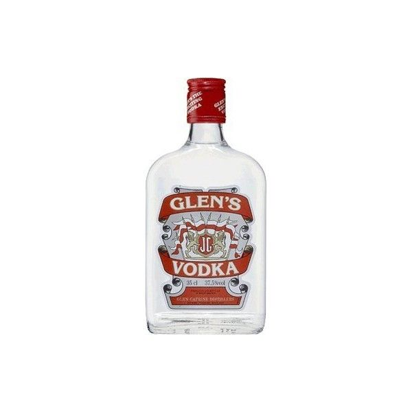 Glens Vodka 35cl Plain ($11) ❤ liked on Polyvore featuring food, drinks, beverages and fillers