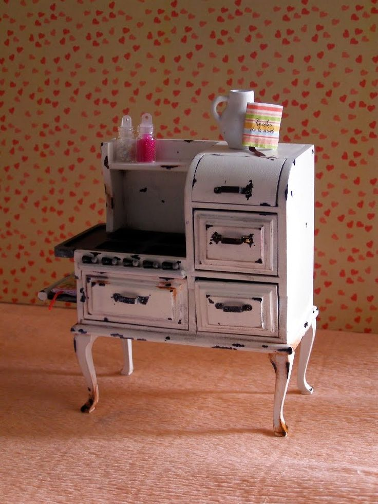 tut to make this stove from those cheap wooden dollar store/michaels dollhouse pieces