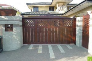 Chengal Wooden Gate