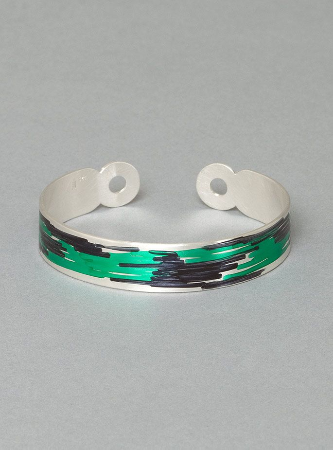 Couverture and The Garbstore - Womens - Ingrid Verhoeven Jewellery - Drawing Bracelet