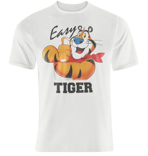 Mens Retro Kellogg's Cornflakes Tony The Tiger - Easy Tiger T-shirt X small
