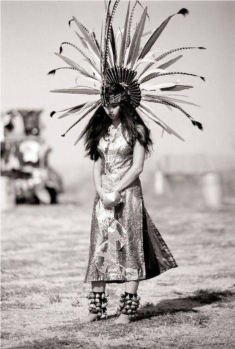 ...american indian girl...she is ...impressive and expressive of something I can't quite put into words..