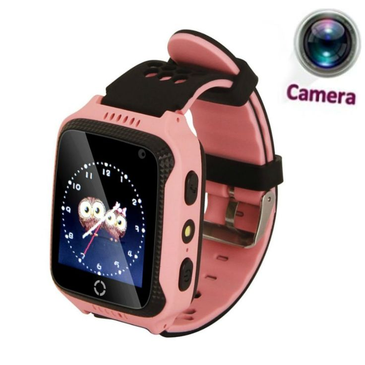JUNEO 1.44 inch GPS Tracker Smart Watch, Touch Screen Watch Kids with High Pixel Camera SIM Calls Anti-lost Safety Monitor Flashlight SOS Wrist Watch Smart Bracelet (Pink). ✔Built-in Camera:Updated latest version with camera function bring more fun,You could take a photo with APP launch, no need to do any operation by kids,in the case of don't disturb children, watch will automatically to the child's environment photograph, help you understand the safety of the surrounding environment....