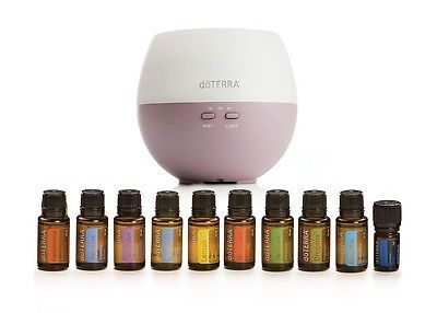 The doTERRA Petal Diffuser and Essential Oils