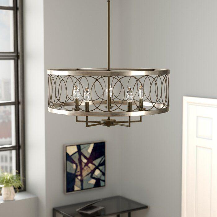 Drum Chandelier, Wayfair Lighting Fixtures Dining Room