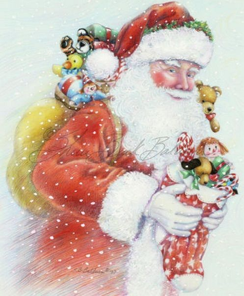 Image result for animated christmas artwork