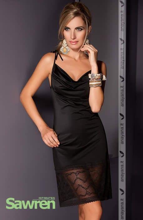 Sensuale ed elegante #CamiciaDaNotte in nero. Tessuto liscio con delicata scollatura. Rifinita con alto bordo in pizzo nella parte inferiore. Se vuoi scoprire di più Clicca qui ►►►http://www.anayana.it/camicie-da-notte/2078-sensual-camicia-da-notte-nero.html #intimo #lingerie