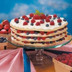 Swedish Cream with Summer Berries | Recipe