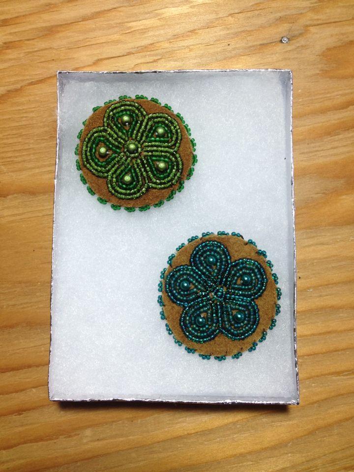 Beaded Magnets by Alaska Beadwork