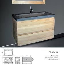 Afbeeldingsresultaat voor badkamermeubel 100 cm