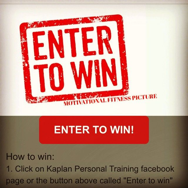 Kaplan Personal Training is offering personal training and massage therapy discounts by entering to win a Motivational Fitness Photo contest! Click for more information!  OR visit http://tab.fo/ufmf2es to enter!