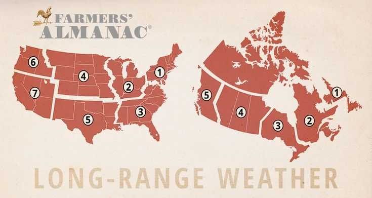 The Old Farmer's Almanac --- Long range weather forecast from the most trusted source for weather for over 200 years.