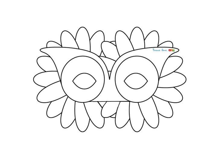 Maschera fiore  http://disegnidacolorare.crescebene.com/maschere-di-carnevale-per-bambini-il-fiore.html