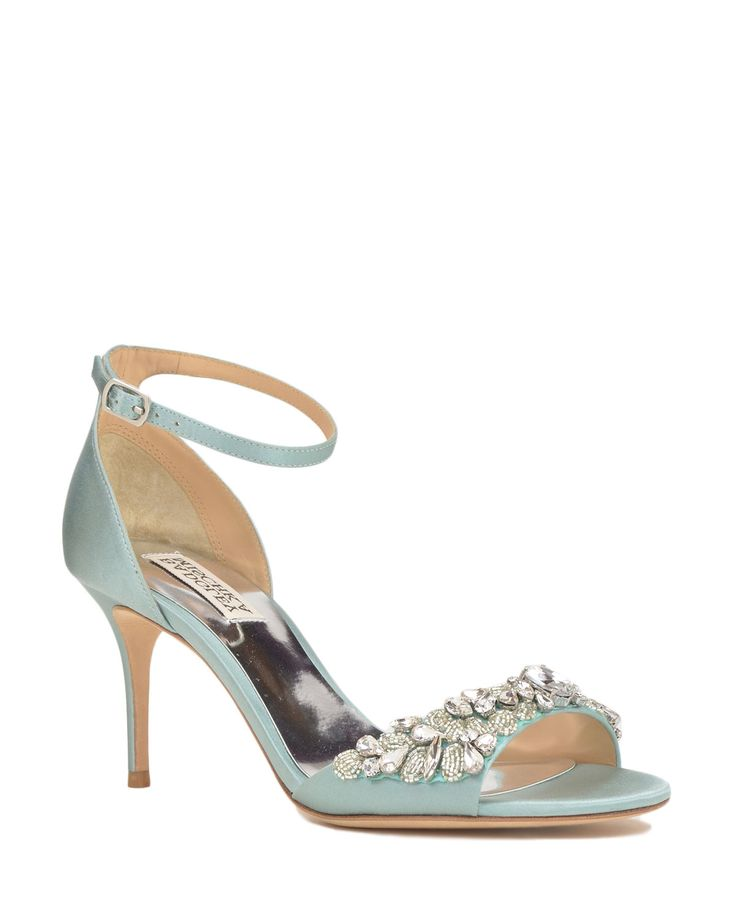 Badgley Mischka Bankston Ankle Strap Evening Shoe, now available at the official website. Free shipping, returns and exchanges.