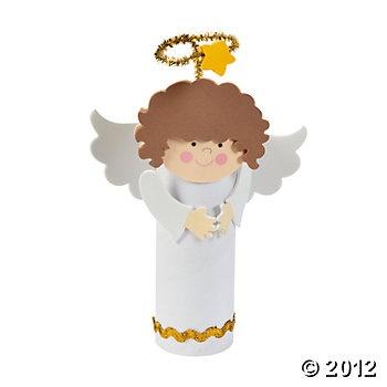 Angel Paper Roll Craft Kit