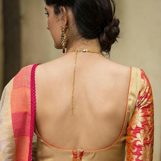 11 Normal Blouse Neck Designs For Simple Saree Style With Images