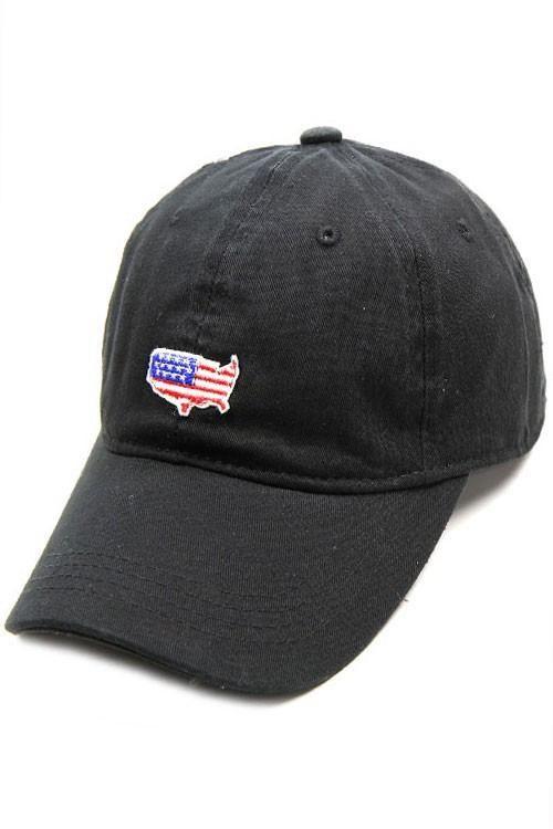 USA American Flag Patch Cap