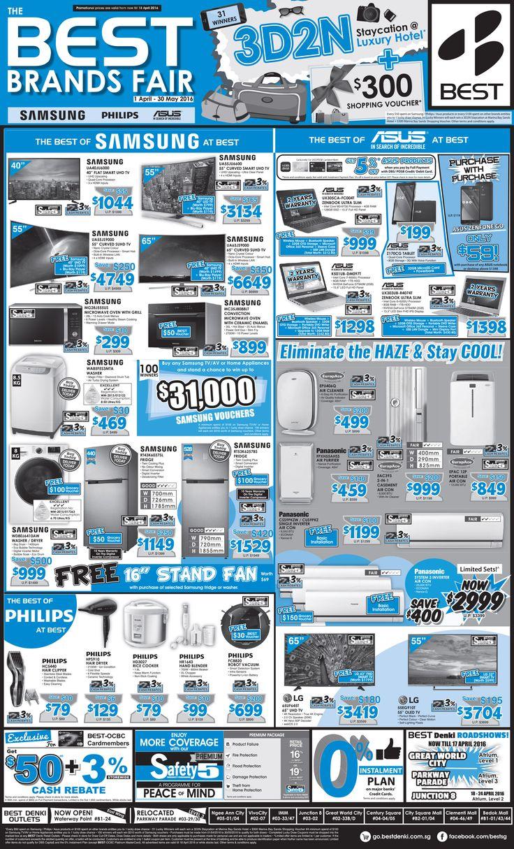 Straits Times Press Ad 15 Apr The BEST Brands Fair