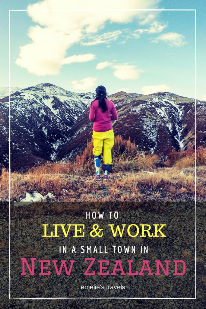 HOW TO LIVE AND WORK IN A SMALL TOWN IN NEW ZEALAND | New Zealand Guide | Travel New Zealand | Work and travel | Travel Guide | Travel Tips