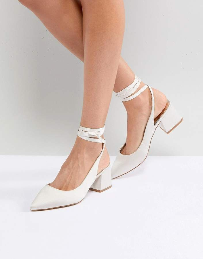 4c955f9ce6b ASOS SWEETHEART Bridal Pointed Heels Heels by ASOS Collection