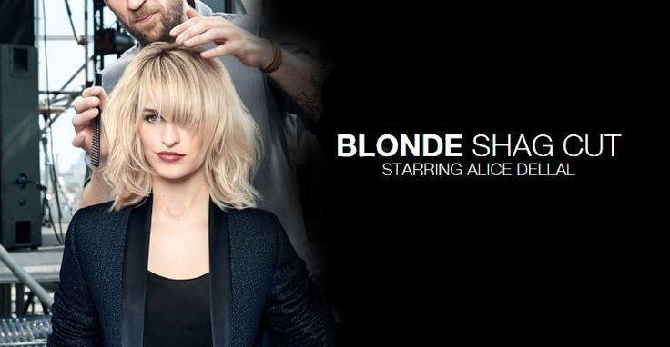 The Blonde Shag Cut | Alice Dellal | L'Oréal Professionnel
