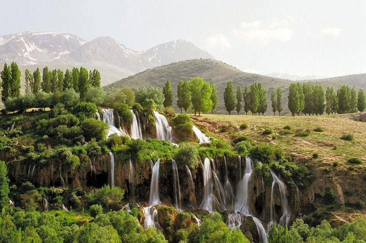 Girlevik Şelalesi, Erzincan