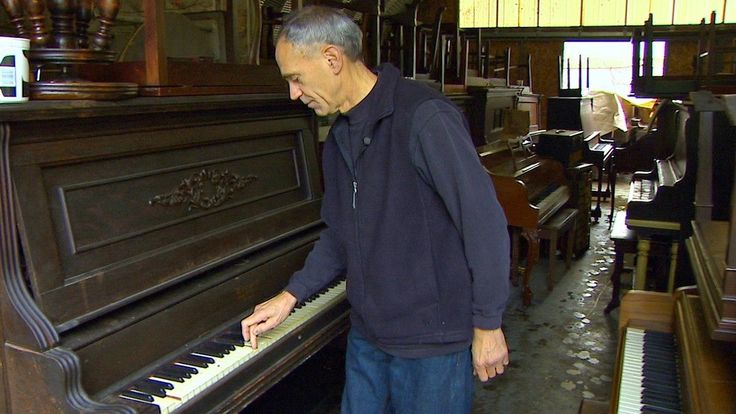 FREELAND, Wash. -- If you were to take the ferry and travel to Whidbey Island and seek out a man named Dean Petrich, I can promise you this: You'd never forget it.The short story is that he owns a piano shop, where he tunes and repairs and reconstructs pia