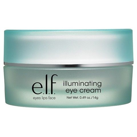 e.l.f. Illuminating Eye Cream—This has helped me reduce the appearance of my dark circles. I usually find myself applying on the weekends so I can take a break from wearing makeup. -politics of pretty