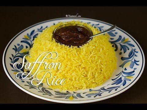 Saffron Rice (Bariis Sacfaraan Leh) Riz au Safran أرز بالزعفران | Xawaash.com