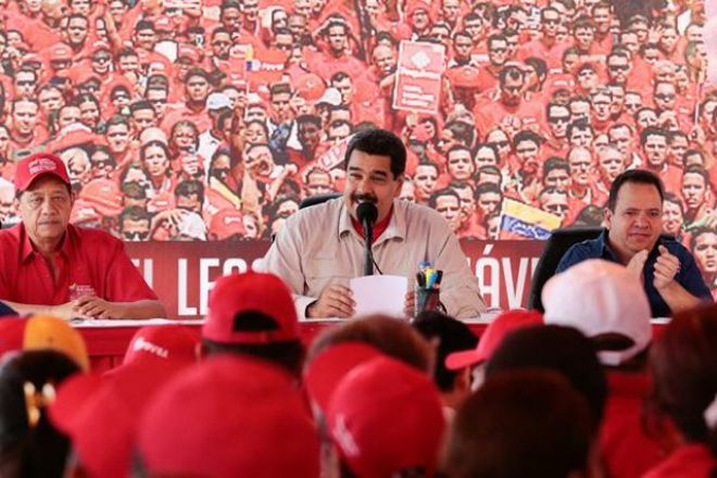 #AlianzaXLaPatria Maduro exhorta a levantar con fuerza la bandera del rescate del Esequibo ¡Siempre fue y debe ser de Venezuela!