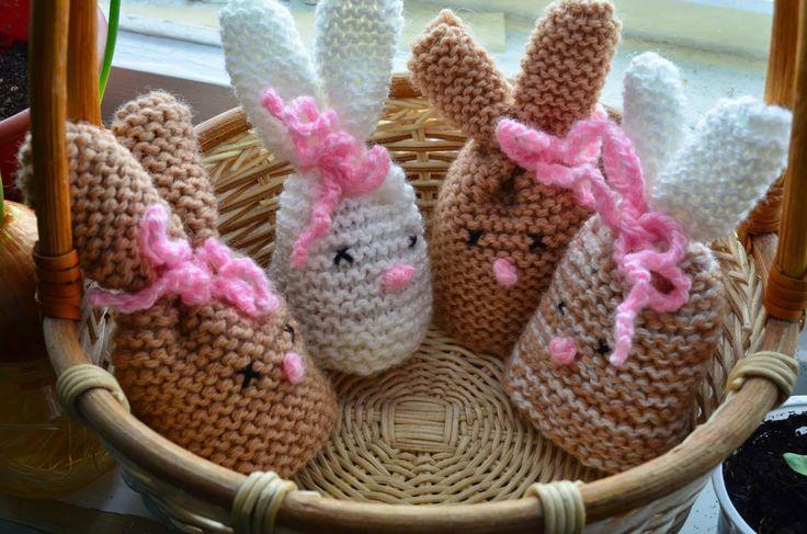 Танюшкин сундучок рукоделок и не только: Пасхальные кролики - грелки для яиц))) + небольшой МК:)